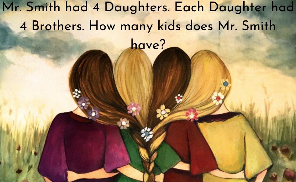 Mr. Smith Had 4 Daughters